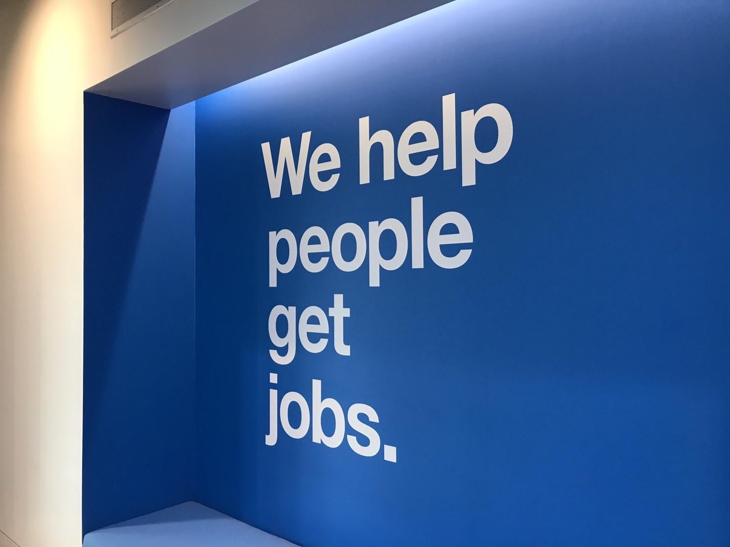 we help people get jobs.